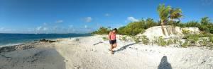sophie sur la plage
